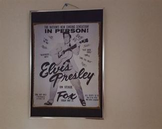 More Elvis items