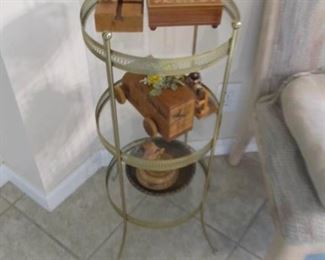 Variety of small end tables
