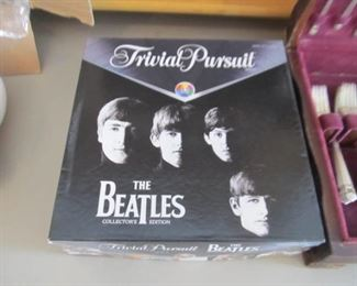The Beatles Trivial Pursuit game (other Trivial Pursuit editions also available)