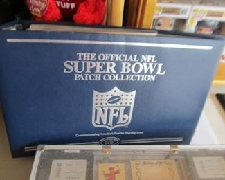 Complete - really nice Super Bowl Patch Collection
