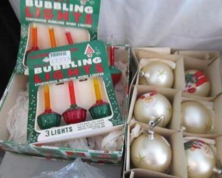 Bubble lights still in box