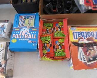 Gum packs Football cards