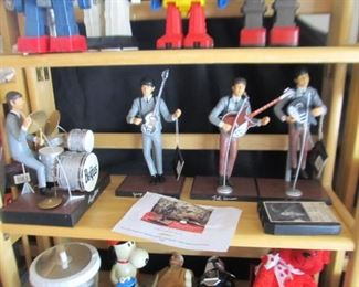1991 Hamilton Beatles set - other Beatles collectibles also available