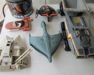Star Wars and/or Star Trek toys