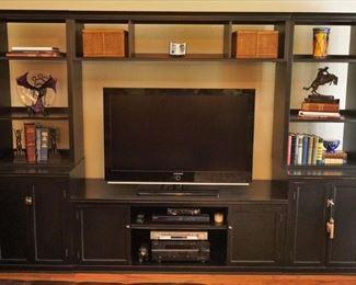 Entertainment shelf - TV not for sale