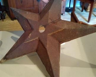 Old cast iron star