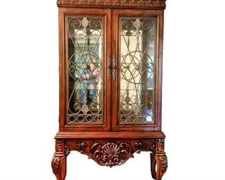 "Lot 003  Signature Design Millenium ""Casa Mollina"" China Cabinet"