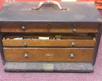antique machinist chest