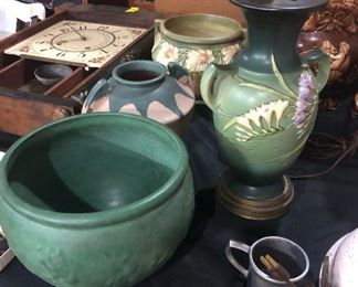 van briggle and roseville pottery