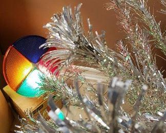 Retro Christmas Tree Color Wheel - Light . Works!!