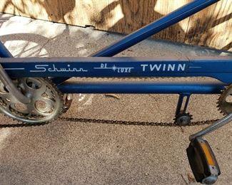 Vintage Schwinn Twinn Tandem Bicycle