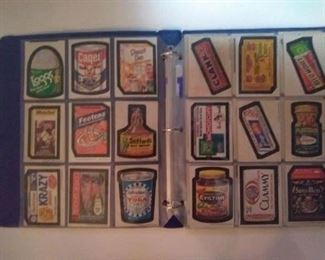 LARGE COLLECTION OF ORIGINAL  UNUSED WACKY PACK CARDS