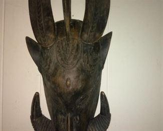Vintage African Tribal Mask