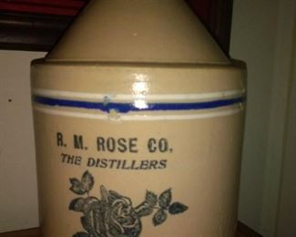 R. M. Rose Co. Atlanta Ga. Whiskey Jug