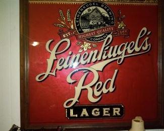 Leinenliugel's Red Lager Sign