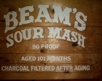Beam's Sour Mash Sign