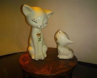 Cat and Kitten Ceramic Made in Japan