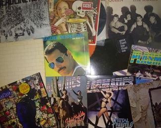 Pink Floyd, David Bowie, Queen, Freddie Murcury, Grateful Dead, The Plasmatics, Atomic Rooster, Led Zeppelin
