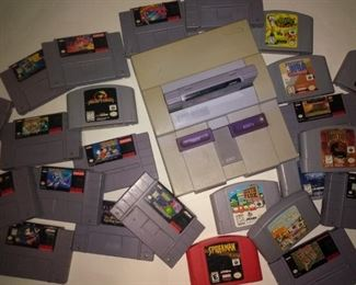 Vintage Nintendo Systems Lots of very Cool Vintage Games
