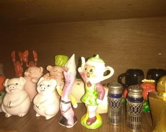 Vintage Collection Salt and Pepper Shakers