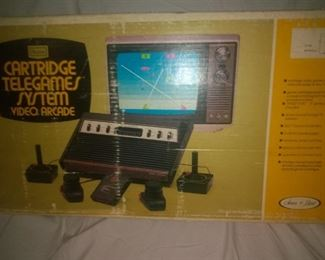 Vintage Sears Telegames System in the Box