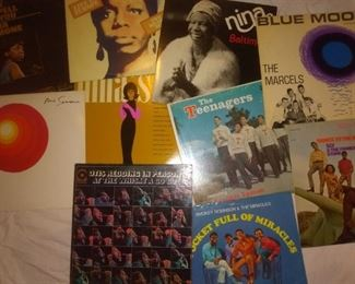 Nina Simone, Otis Redding, The Miracles, The Teenagers Featuring Frankie Lymon, The Marcels, Sly and The family Stone