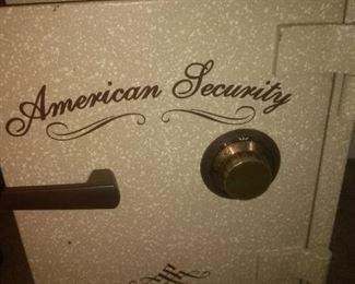 Vintage American Security Safe