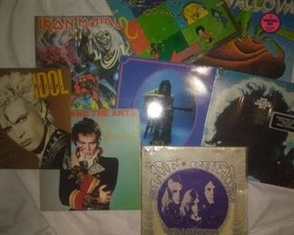 Billy Idol, Swallow, Nick Drake, Adam and the Ants, Iron Maiden, Procol Harum, Bob Dylan Greatest Hits with Color Poster
