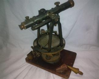 Antique Keuffel & Easier Co. Surveying Instrument