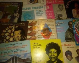 Rare Gospel Albums James Clevland, Eloise Brown, Milton Brunsun, Rossetta Tharpe  and more..