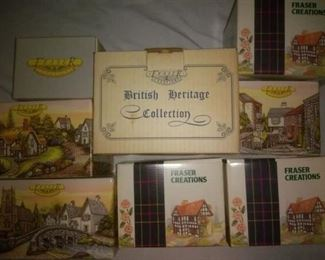 Collectible Fraser Creations in Boxes