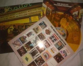 Vintage Beatles Yellow Album