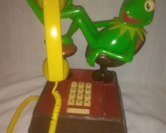 Vintage Kermet the Frog Phone