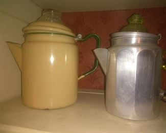 Vintage Coffee/Tea Perculators