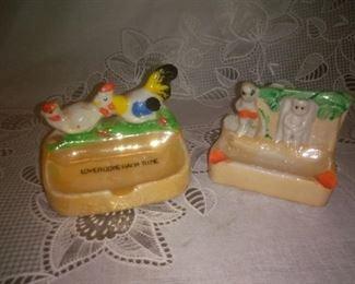 Vintage  Ceramic Ashtray Japan