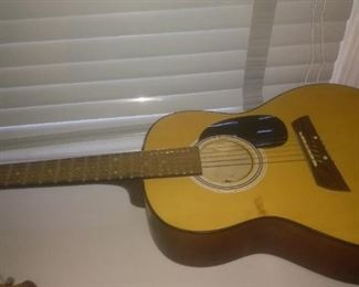 Vintage First Act  Acoustic Guitar
