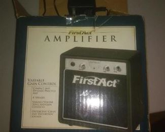 Vintage Small  First Act Amplifier
