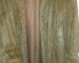 Vintage Full Mink Coat