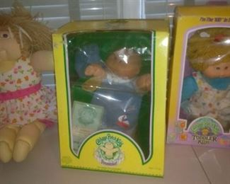 Original Little People and Cabbage Patch Dolls