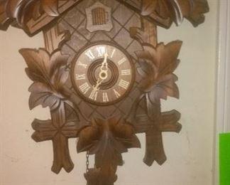 Vintage  Black Forrest Cuckoo Clock