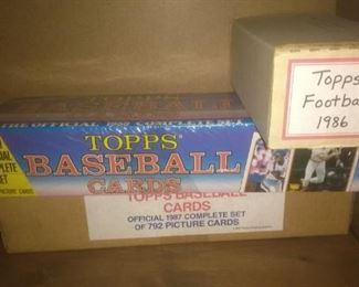 Unopened Topps Baseball Card Box Set