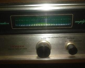 Vintage Pioneer Reverberation Model SR 202W
