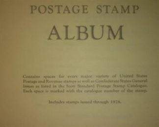 Scott National Postage Stamp Album