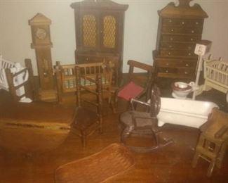Vintage Miniature Furniture