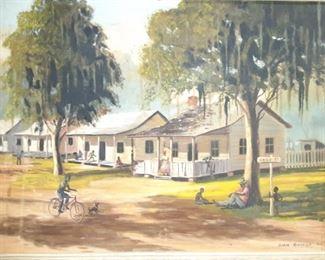 Easy Street Oil Painting by John George 1963