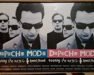 Depeche Mode Tour 2005/2006 Poster in Frame