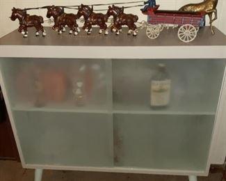 Mid Century Grey Cabinet  Bar