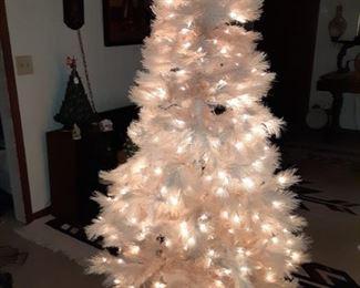 6 Foot Cream White Christmas Tree