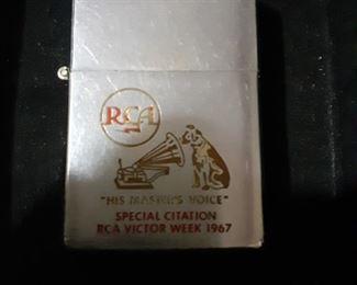Vintage 1967 RCA Promotional Zippo