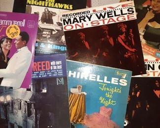 Sealed Marvin Gaye, Motown, Blues LP's